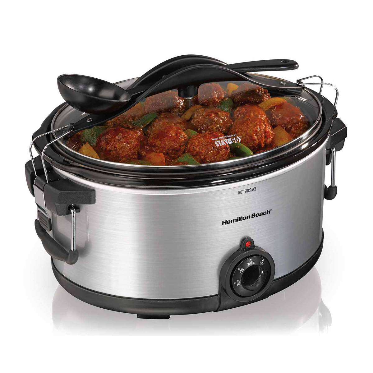 Deluxe Stay or Go® 6 Quart Slow Cooker (33165TA)