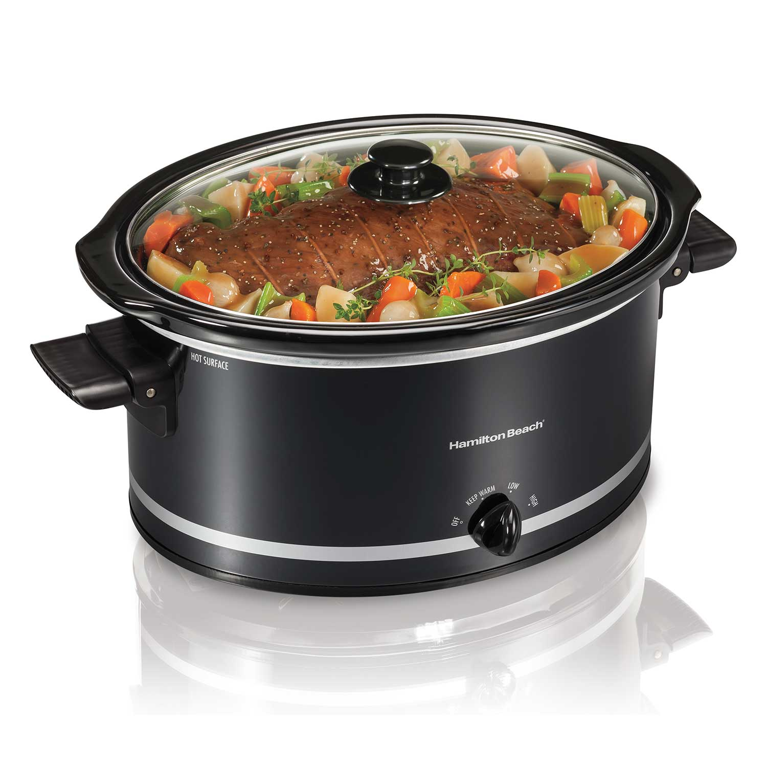 8 Quart Oval Slow Cooker (33185)