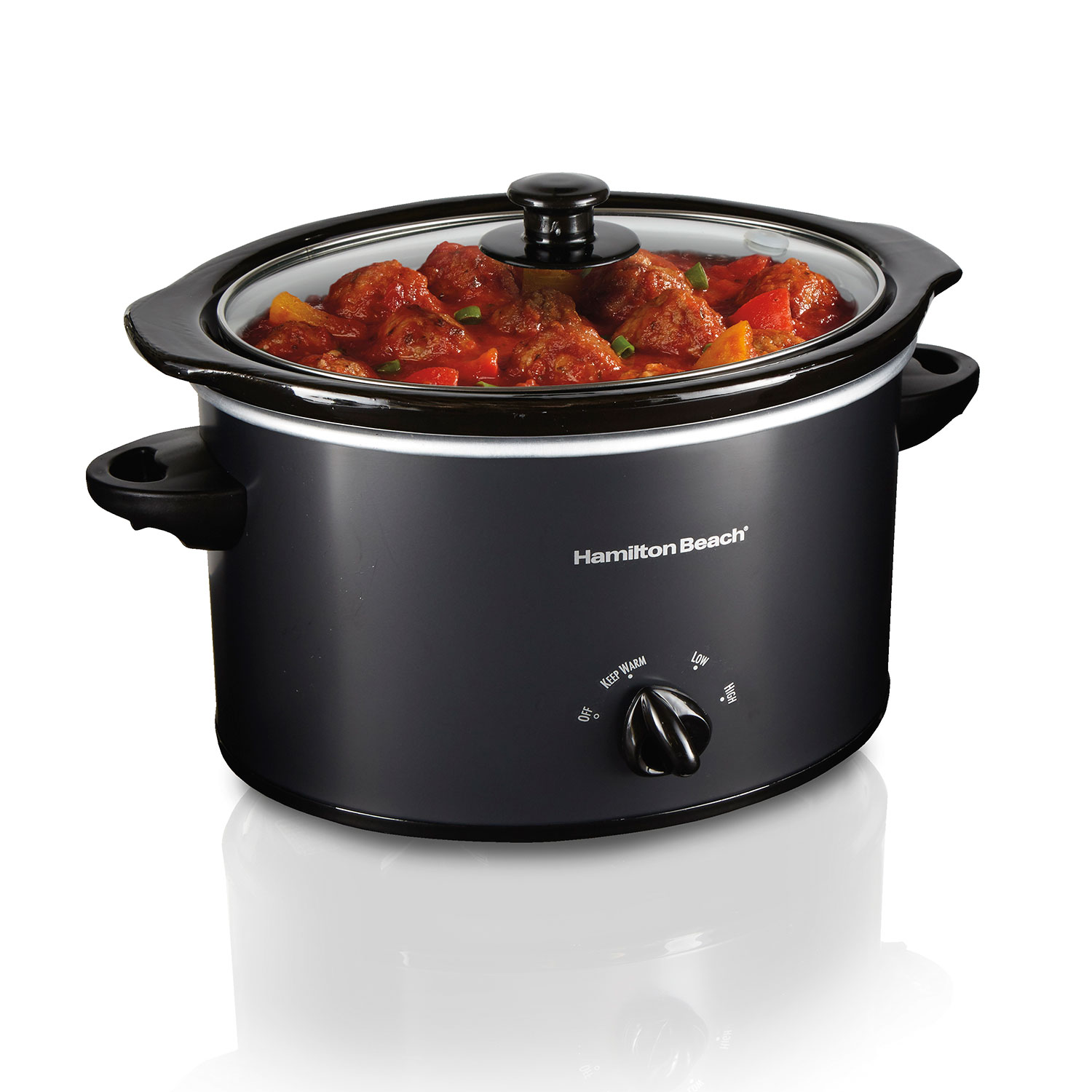 3 Quart Slow Cooker (Matte Black) (33231)