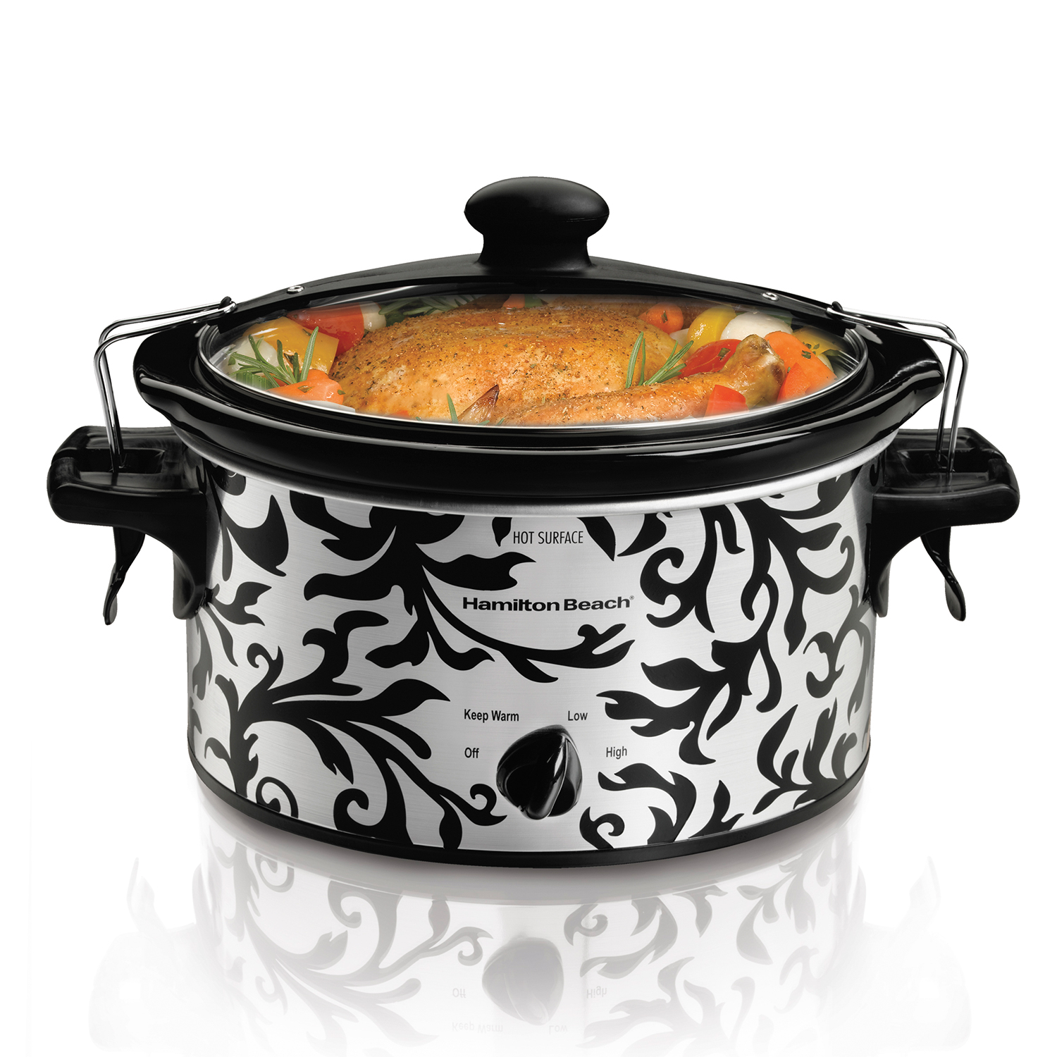 Stay or Go® 4 Quart Slow Cooker (33246)