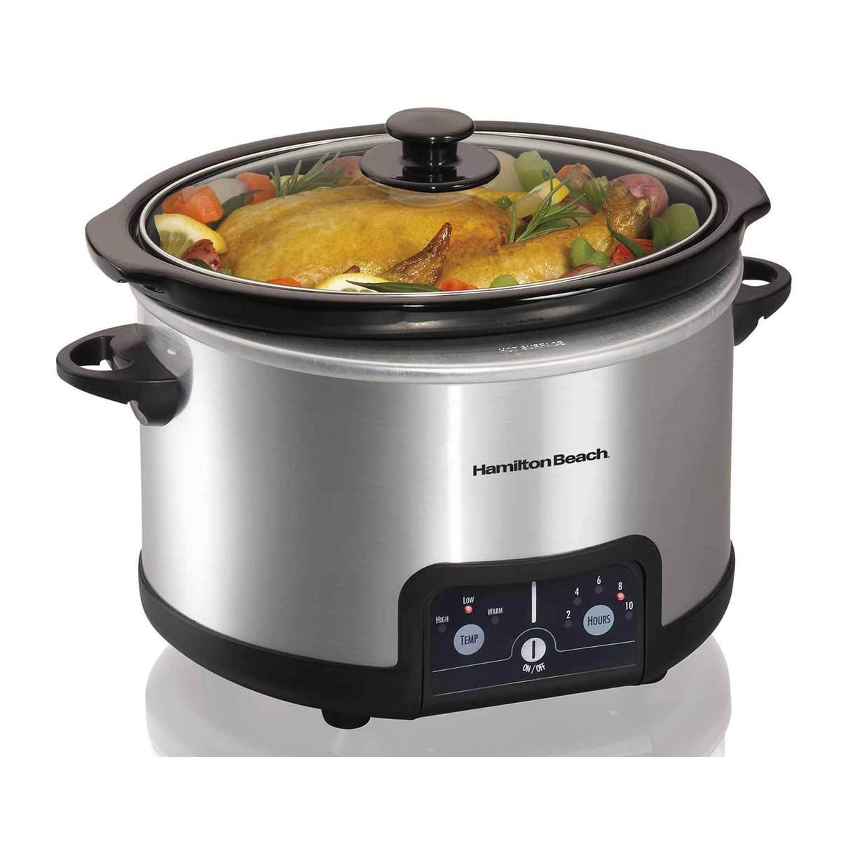 Programmable 4 1/2 Quart Slow Cooker (33247)