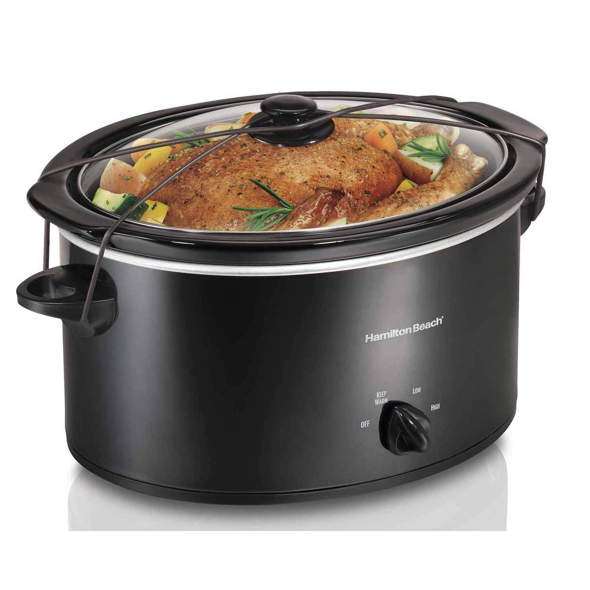 5 Quart Portable Slow Cooker (33256)