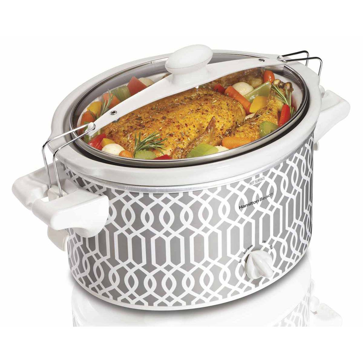 Stay or Go® 4 Quart Trellis Slow Cooker (33346)