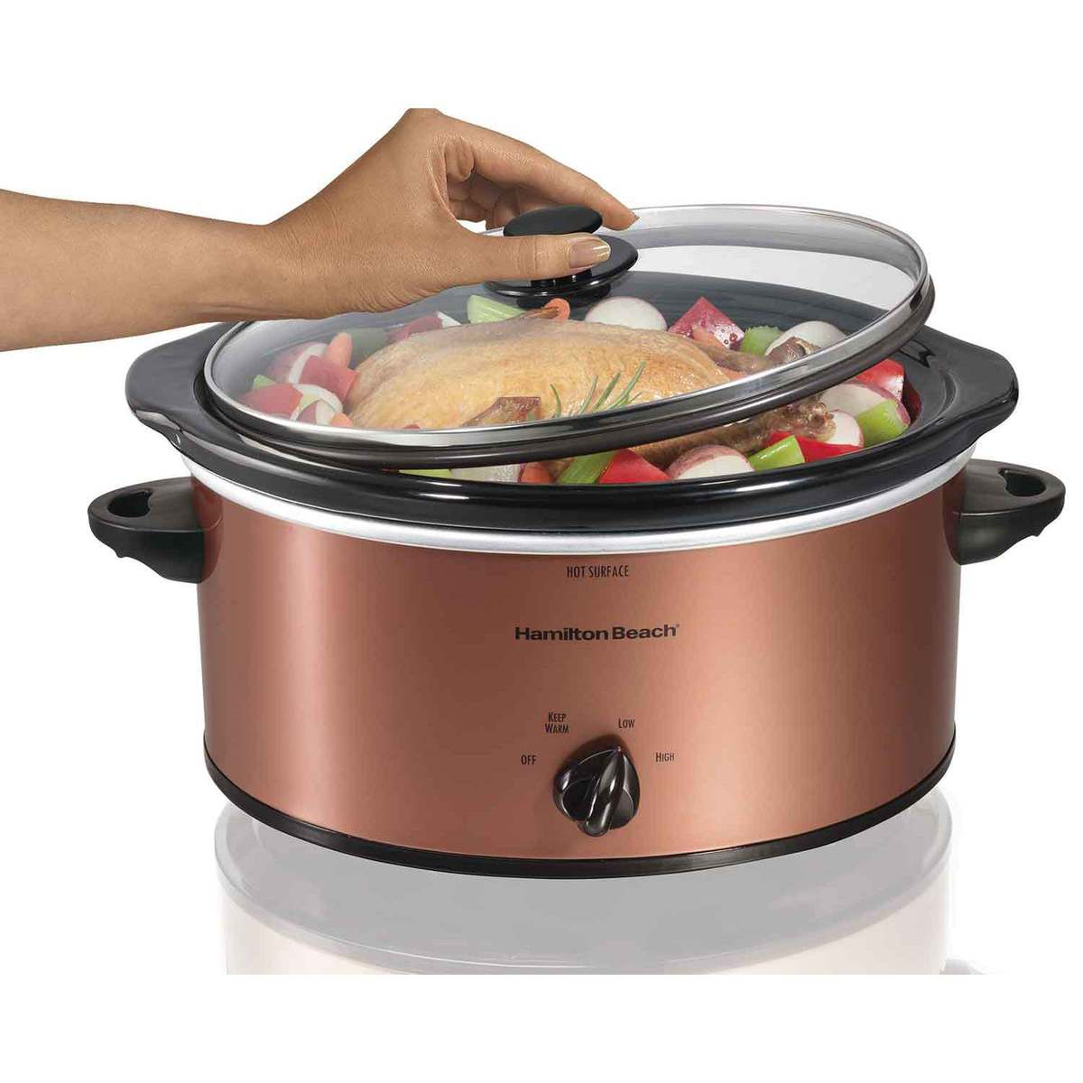 5 Quart Portable Slow Cooker (33350)
