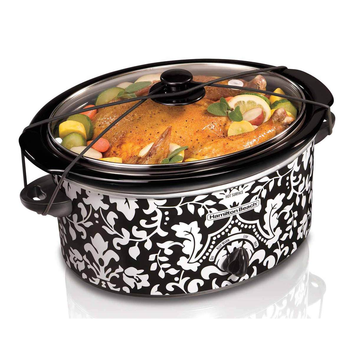 5 Quart Portable Slow Cooker (33357)