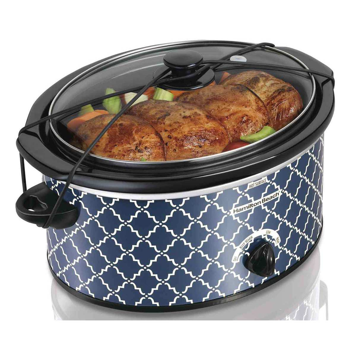 5 Quart Portable Slow Cooker (33359)