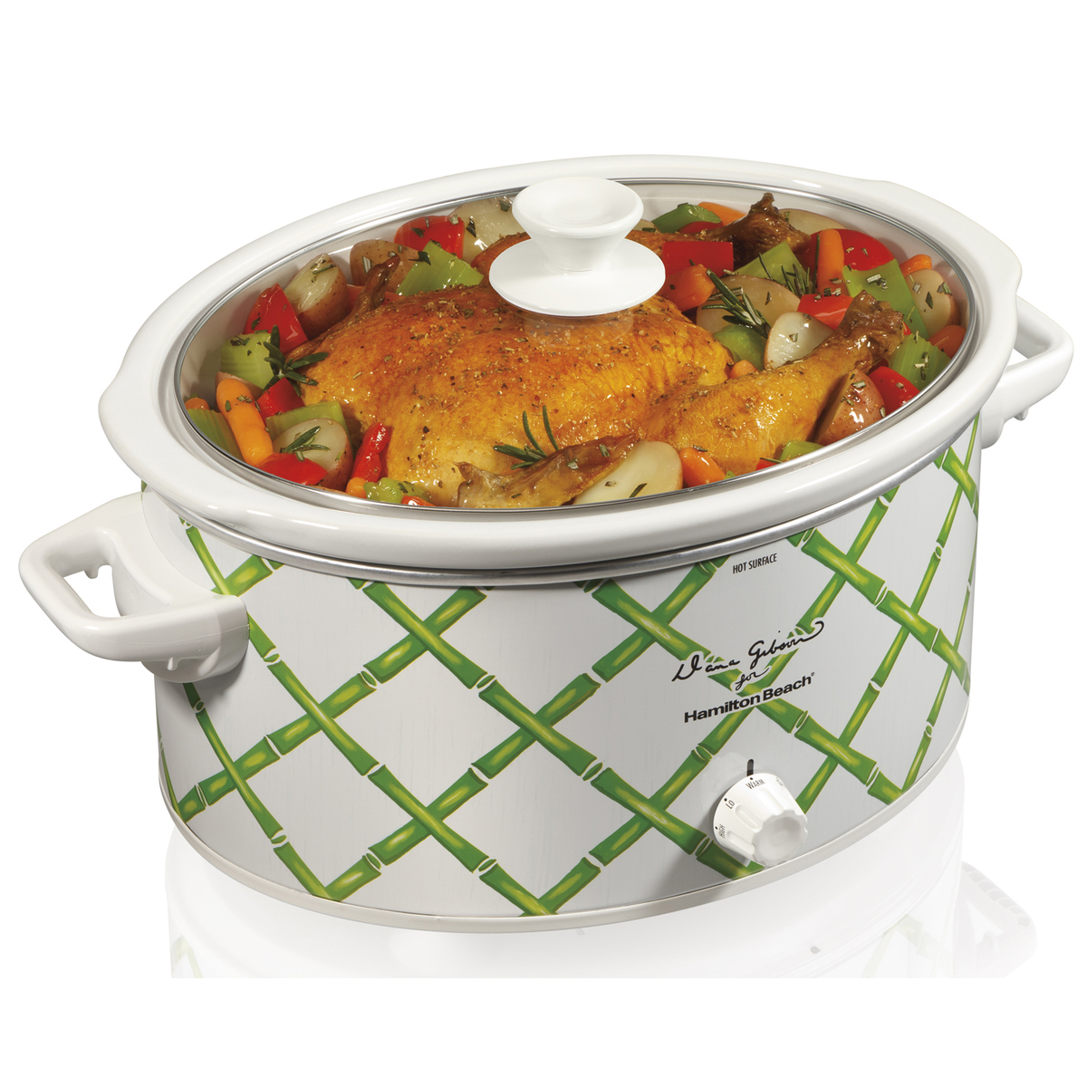 Dana Gibson 6 Quart Slow Cooker (33361)
