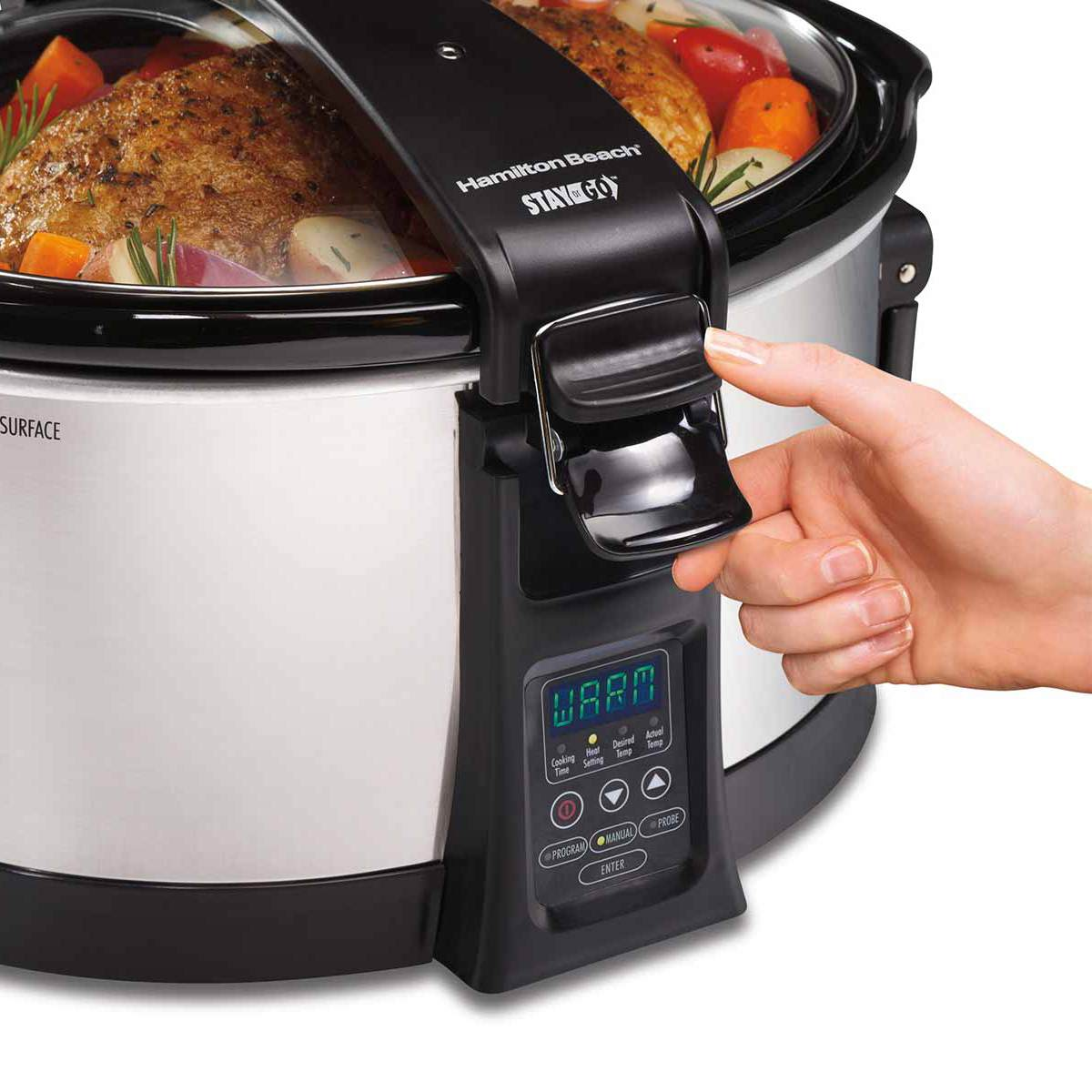 Set & Forget® Programmable 6 Quart Slow Cooker (33464)