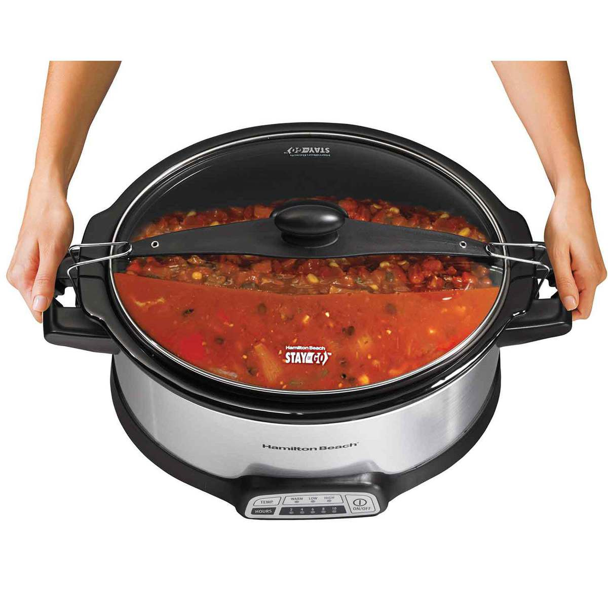 Programmable Stay or Go® 6 Quart Slow Cooker (33466)