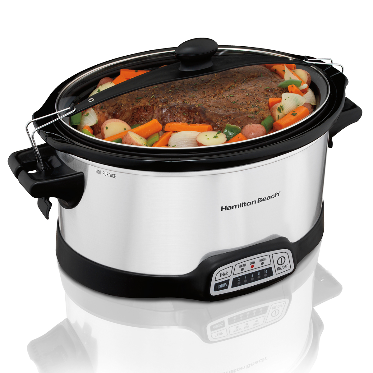 Stay or Go® Programmable 7 Qt. Slow Cooker (33476)