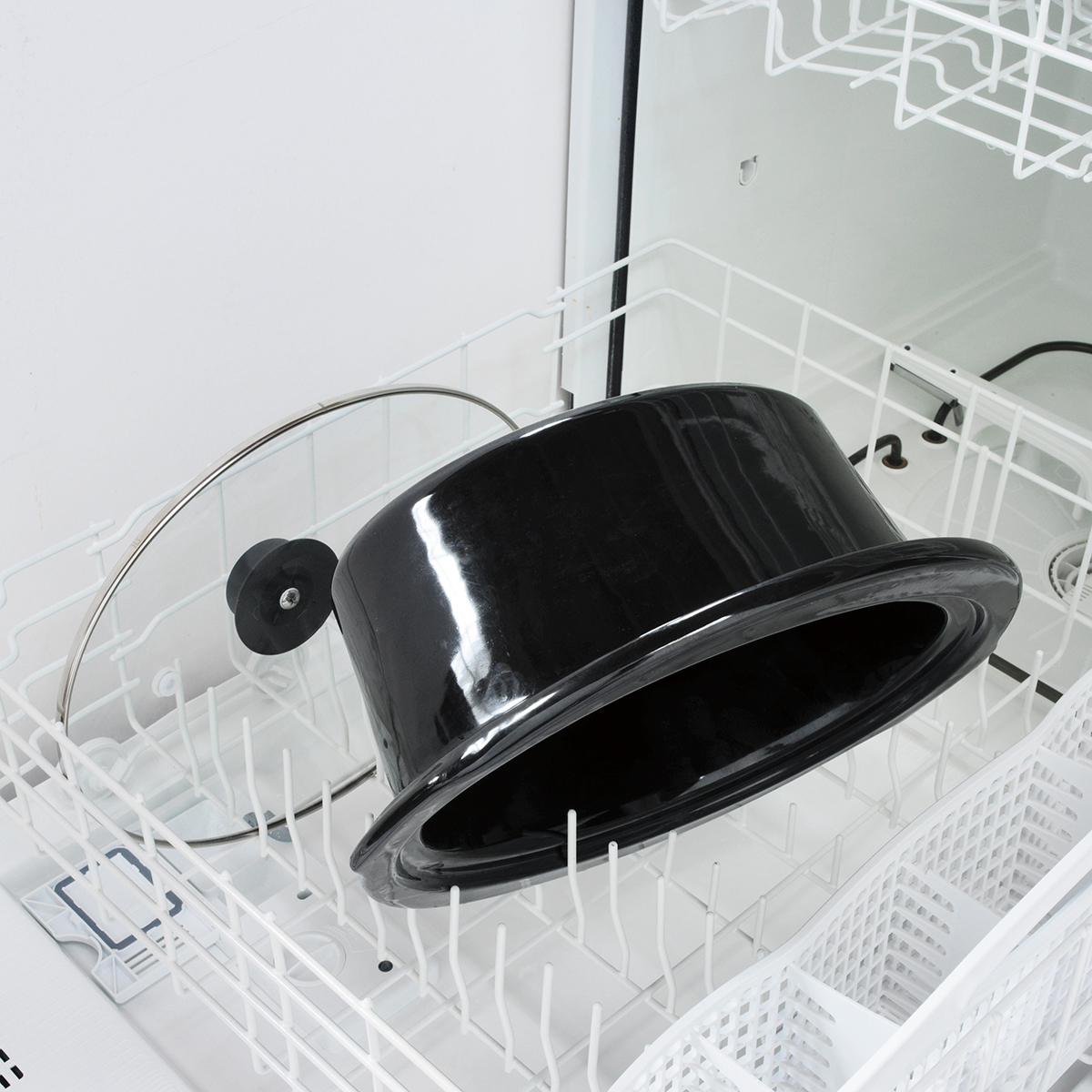 Most slow cooker crocks and lids are dishwasher safe.