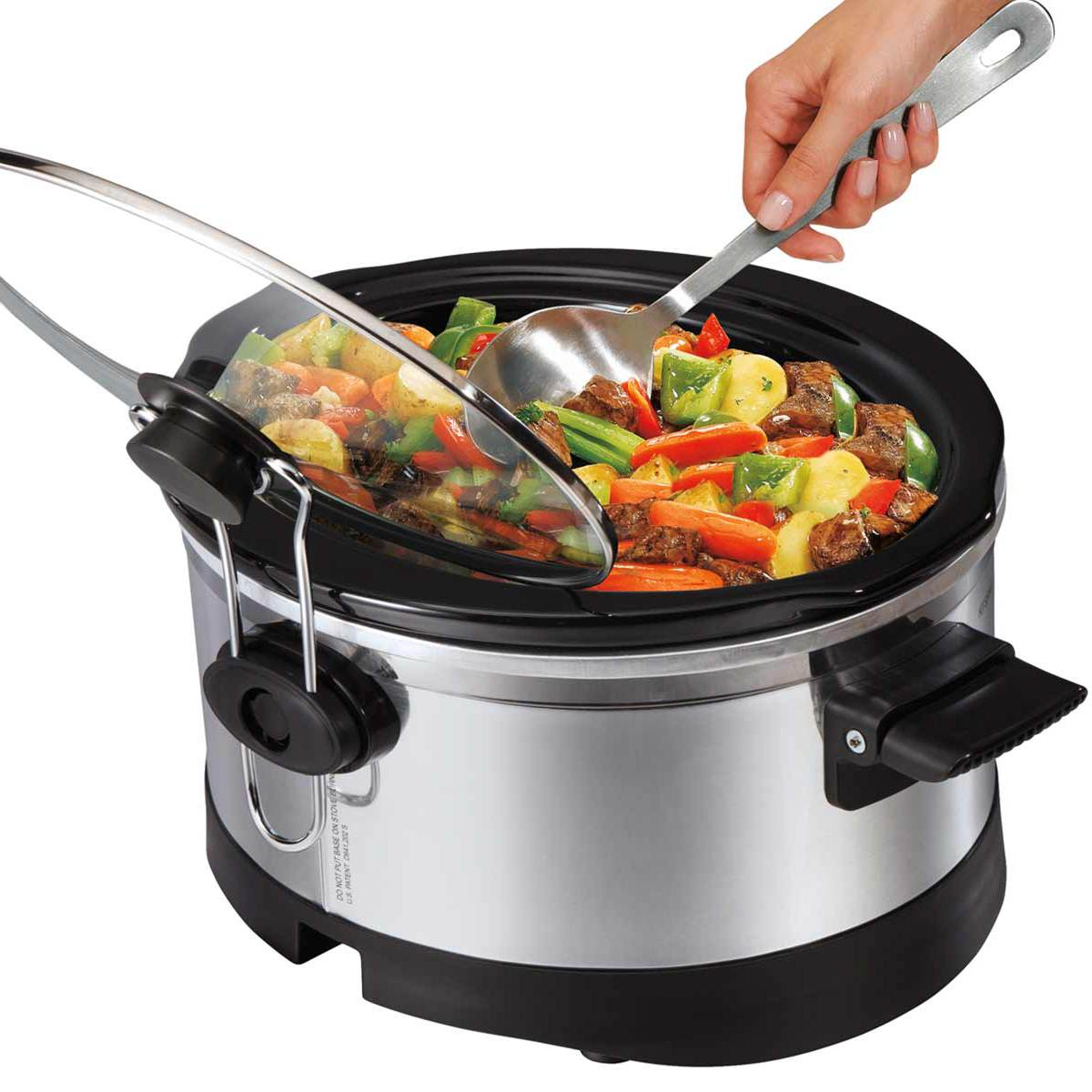 IntelliTime™ 6 Quart Slow Cooker (33564)