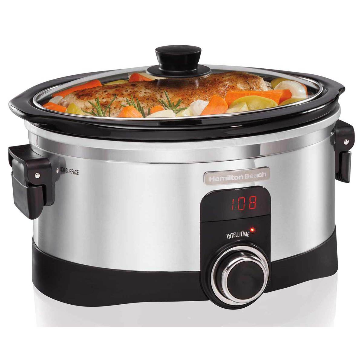 IntelliTime™ 6 Quart Slow Cooker (33564)