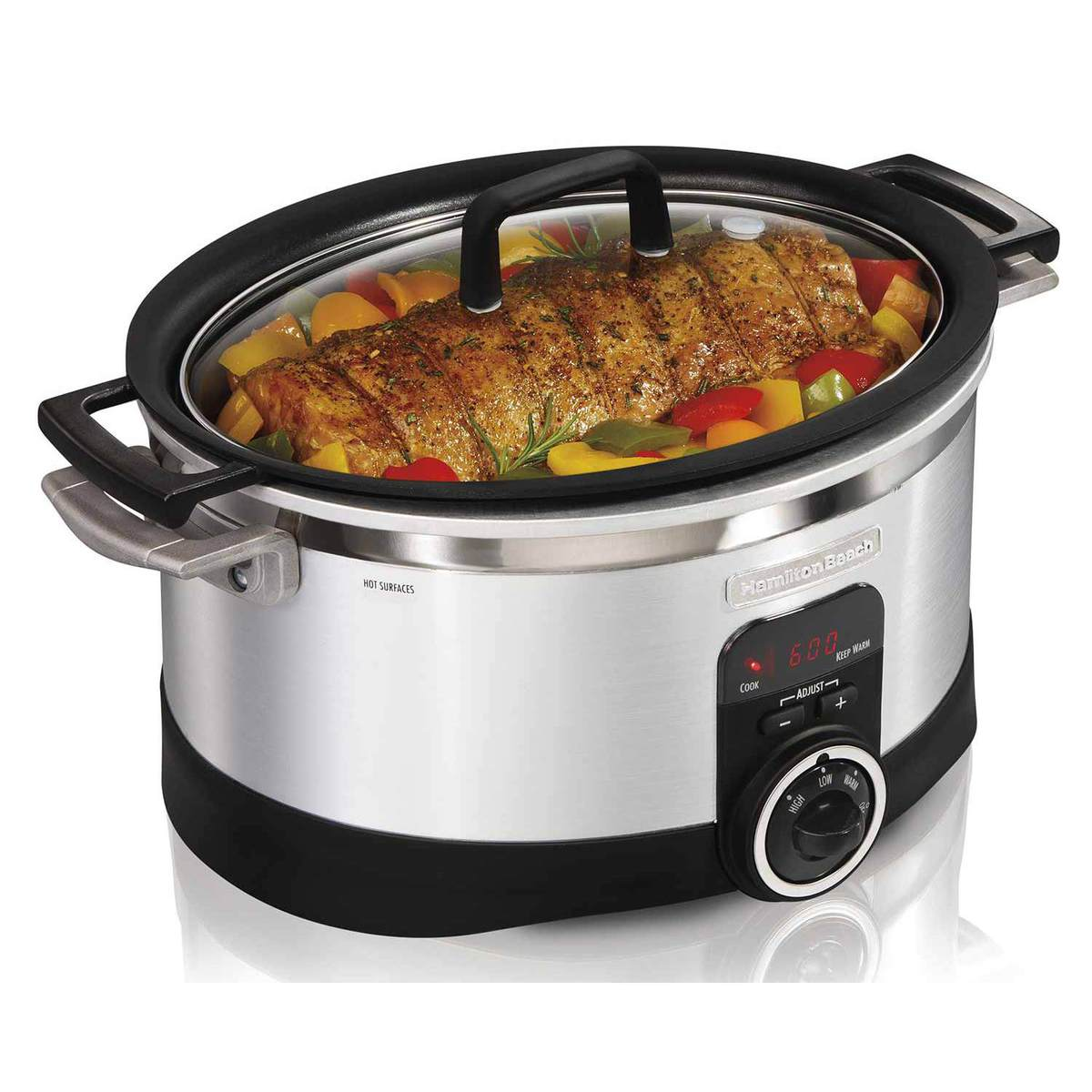 6 Quart Programmable Stovetop Slow Cooker (33567)