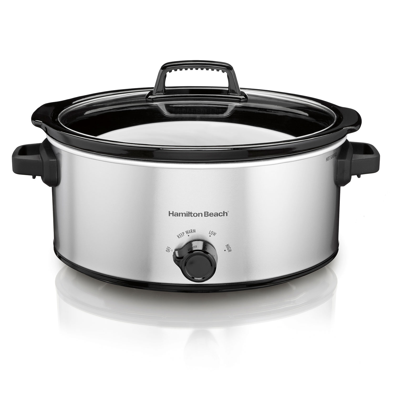 6 Quart Oval Slow Cooker (33665)