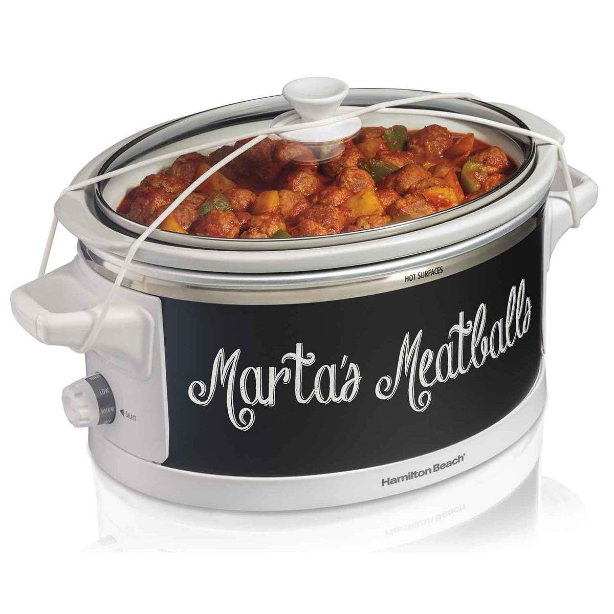 Wrap & Serve™ 6 Quart Slow Cooker (33761)