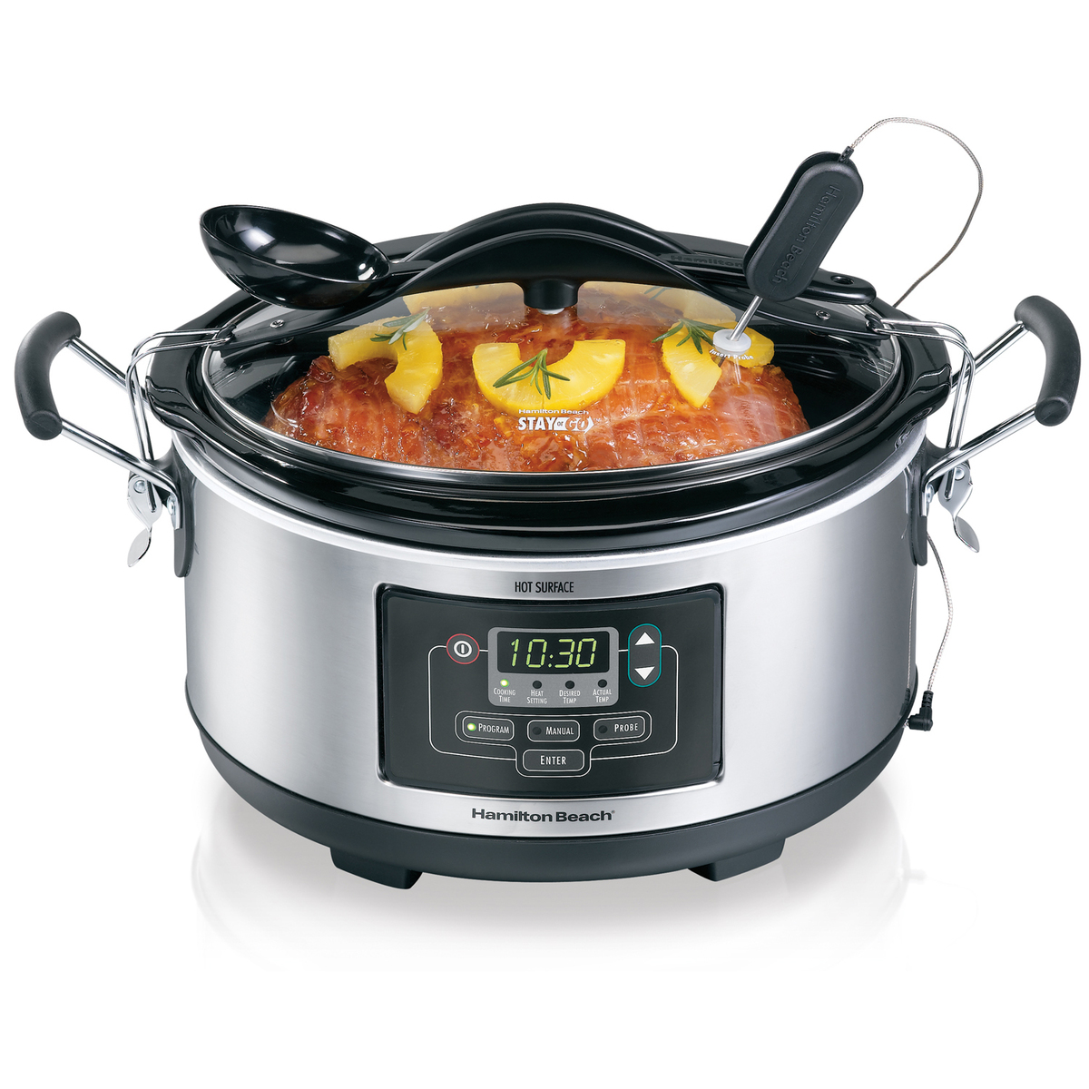 Deluxe Set & Forget® 6 Quart Slow Cooker (33862)