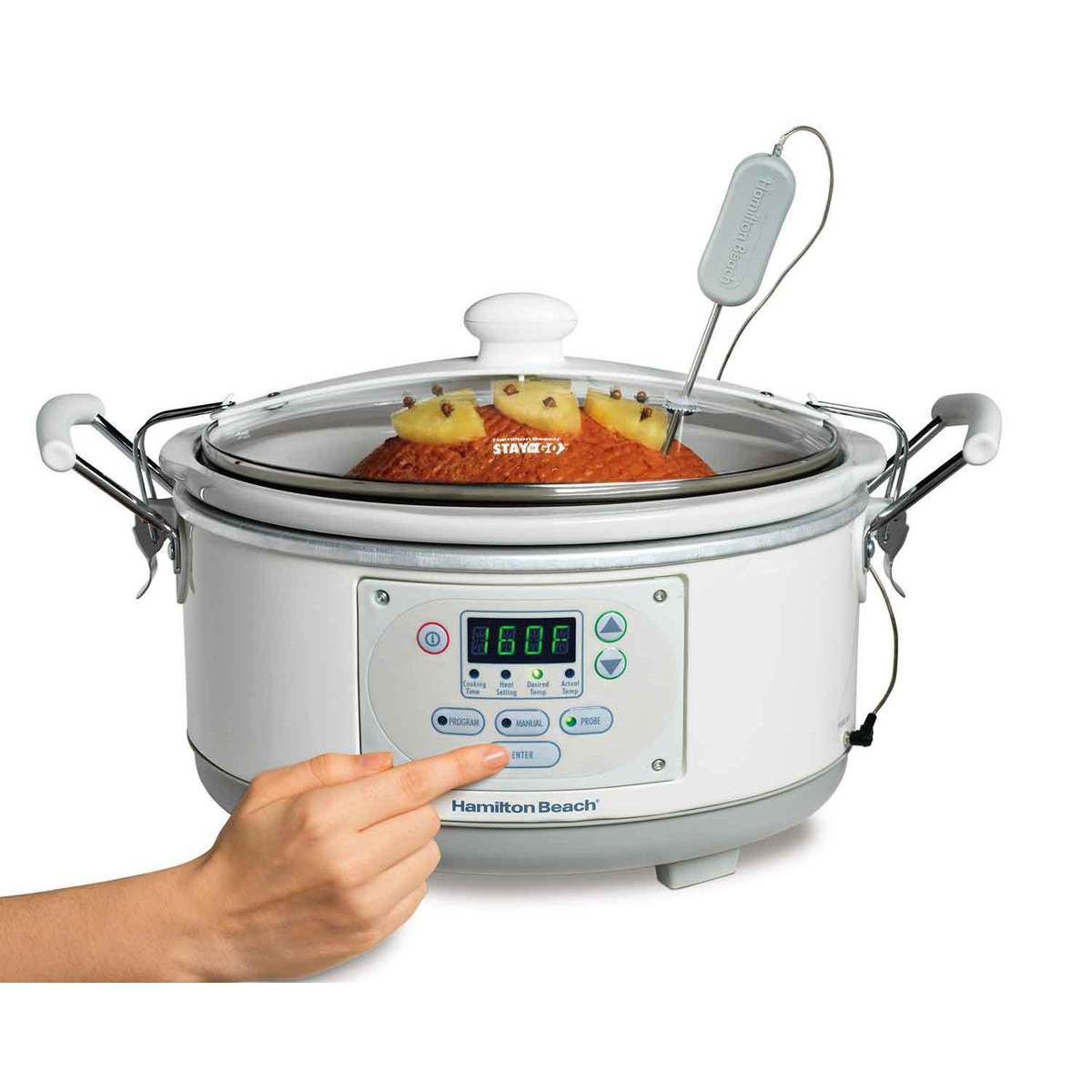 Set 'n Forget® 5 Qt. Programmable Slow Cooker (33956)