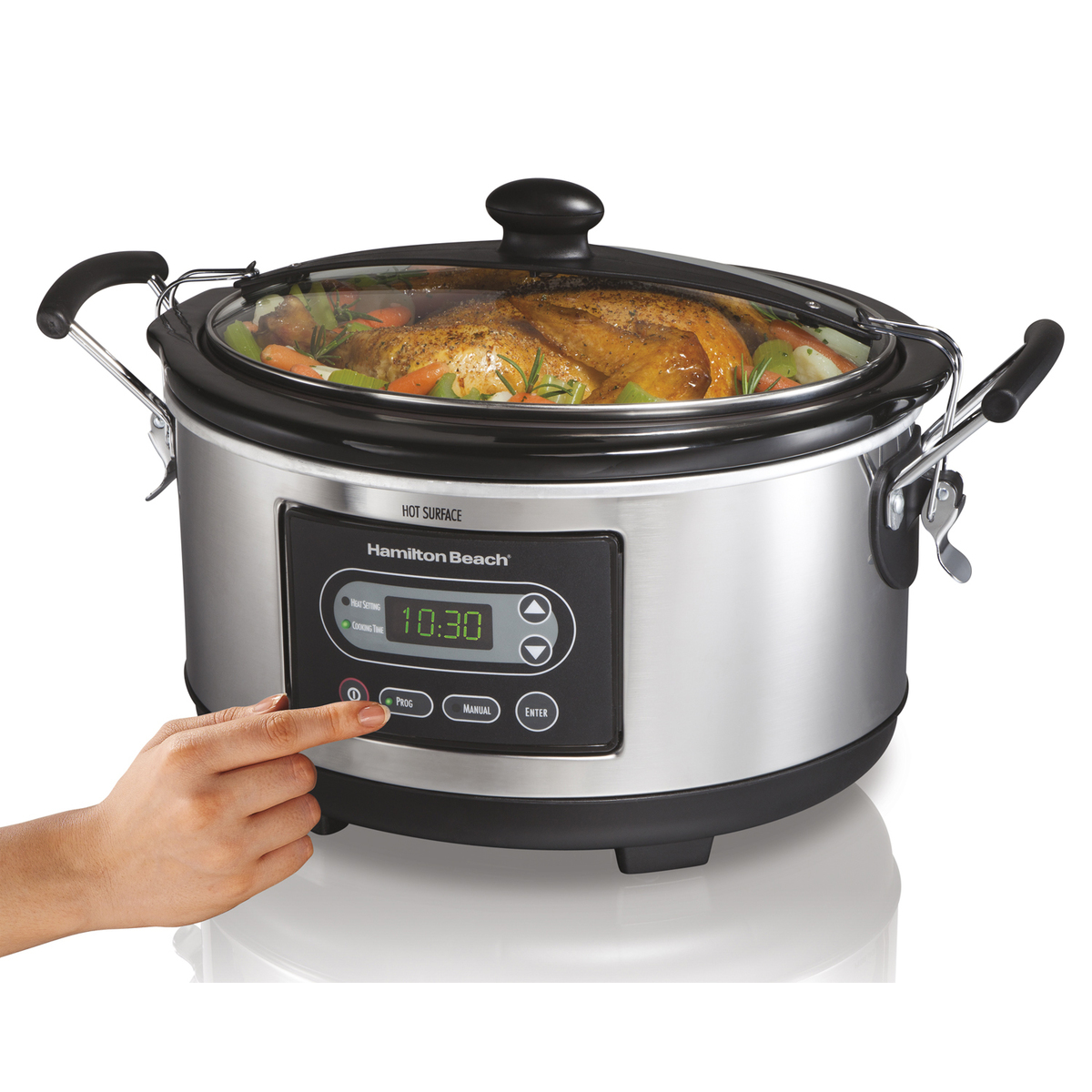 Stay or Go® 6 Qt. Programmable Slow Cooker (33965)