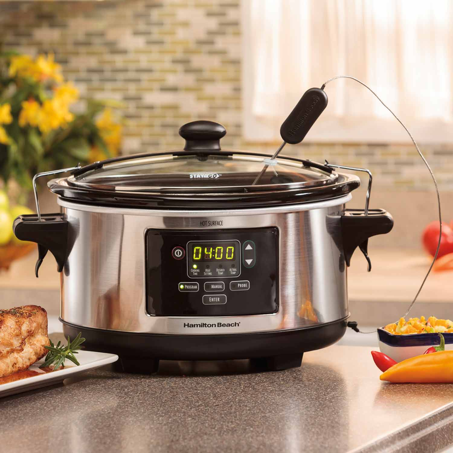 Is it safe to leave slow cookers unattended? Yes!