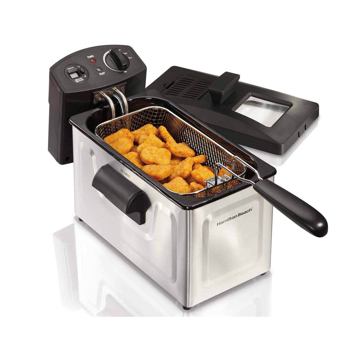 Deep Fryer, 12 Cup Oil Capacity with Digital Timer (35033)