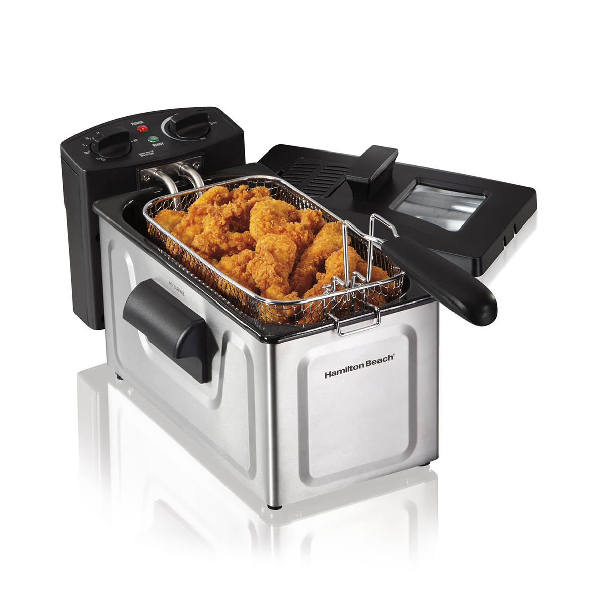 Deep Fryer, 8 Cup Oil Capacity with Timer (35200)