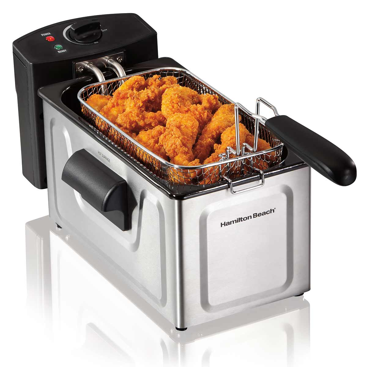 Deep Fryer, 8 Cup Oil Capacity with Immersed Heating Element (35325)