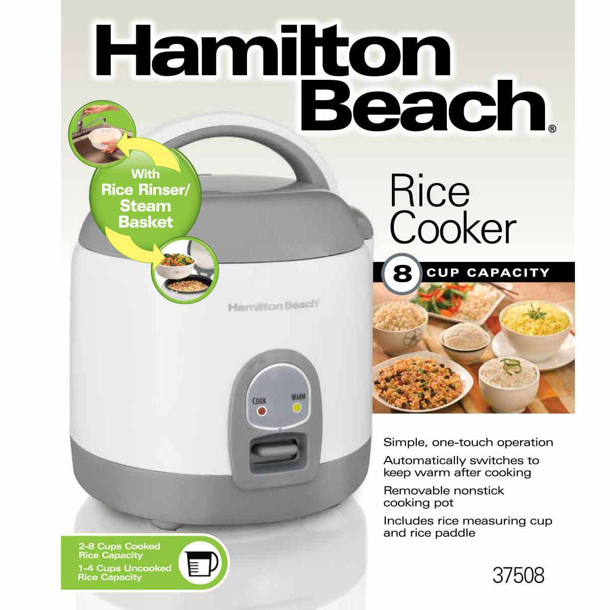 28 Cup Capacity (cooked) Rice Cooker (37508)