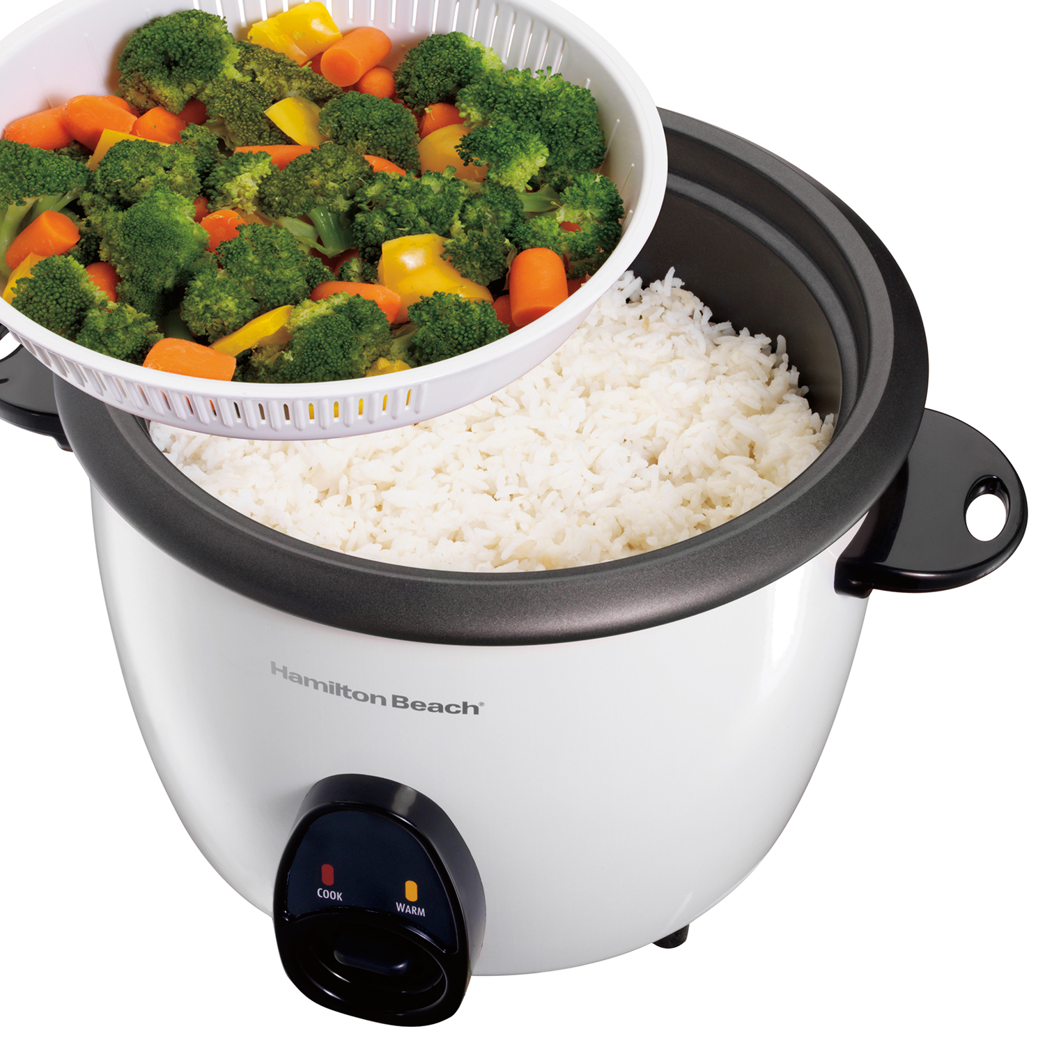 16 Cup Capacity (Cooked) Rice Cooker & Food Steamer (37516)