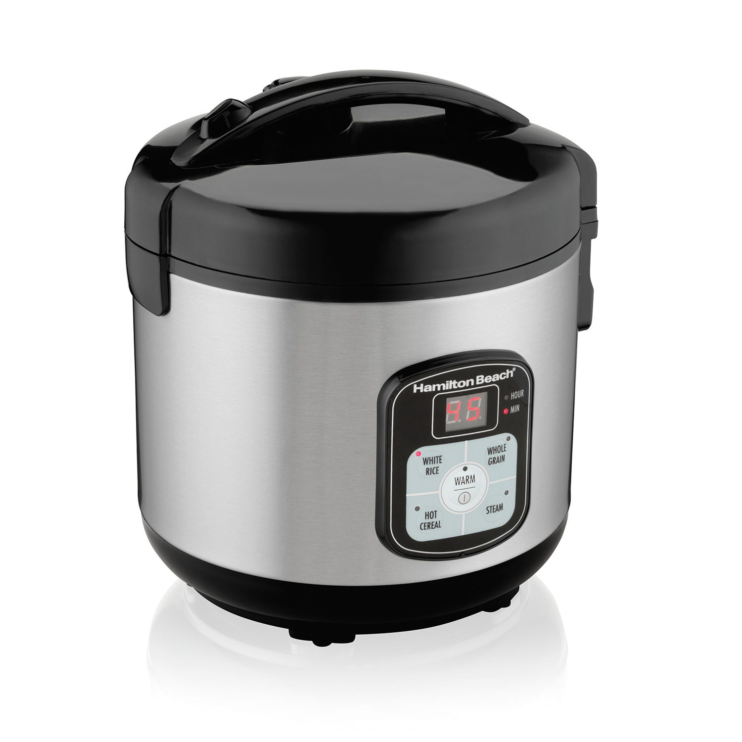Largest Capacity Rice Cooker Steamer ~ Hamilton beach cup capacity cooked rice cooker food