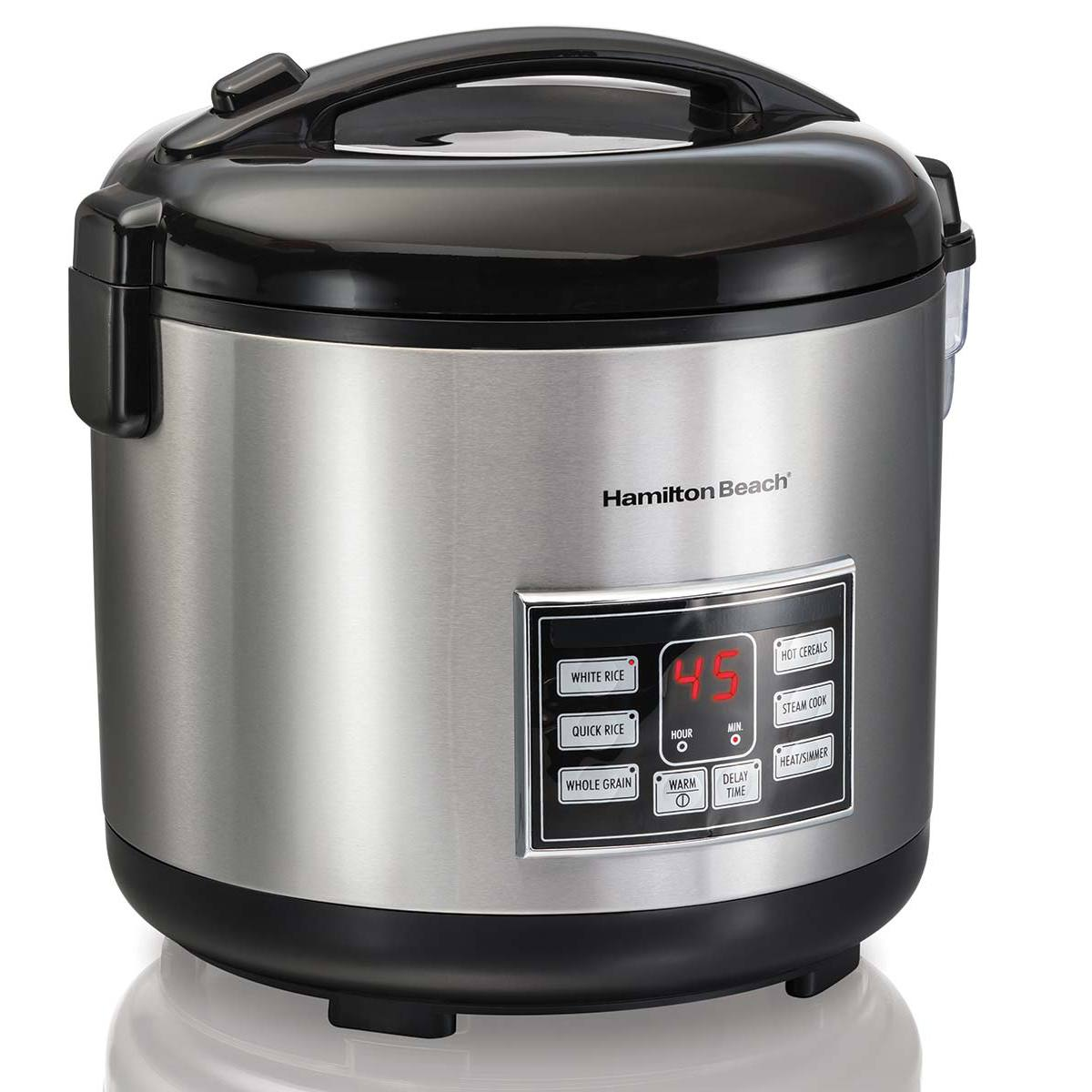 hamilton beach rice hot cereal cooker 20 cup 37543. Black Bedroom Furniture Sets. Home Design Ideas