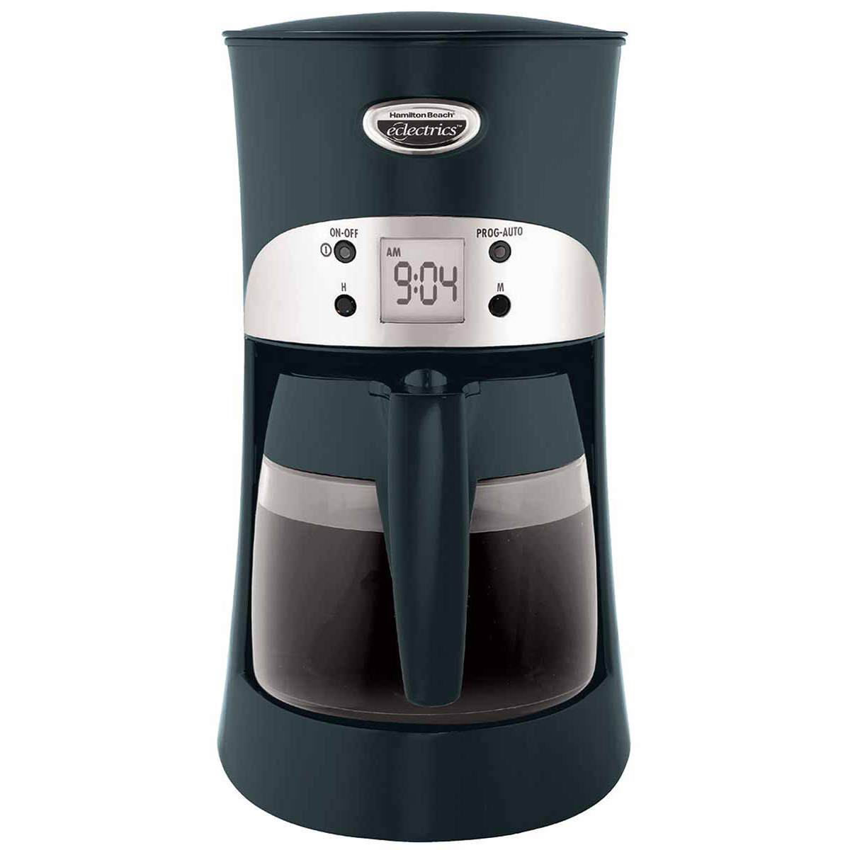 Eclectrics® Licorice (black) All-Metal Coffeemaker (40117)