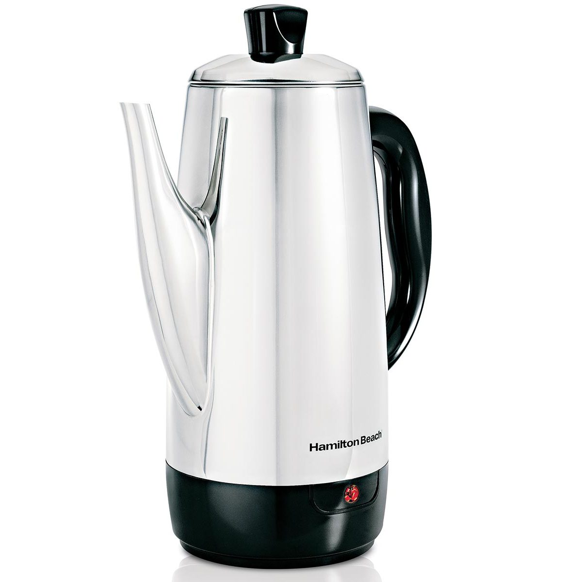 12 Cup Percolator with Cool-Touch Handle, Stainless Steel  (40616)