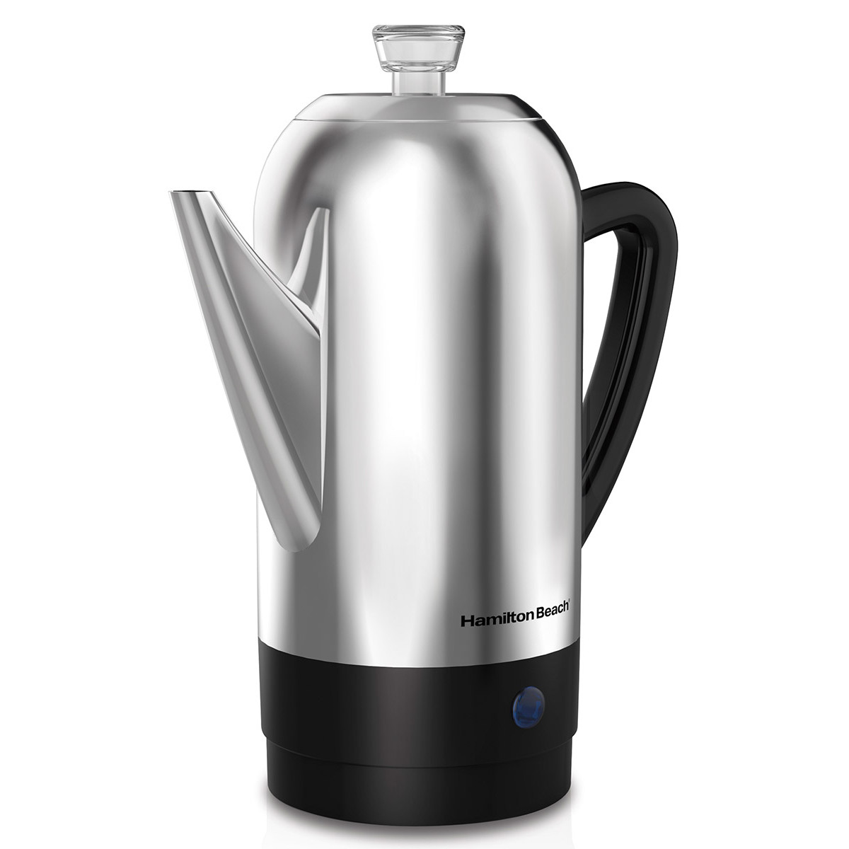 12-Cup Percolator, Stainless Steel (40622R)