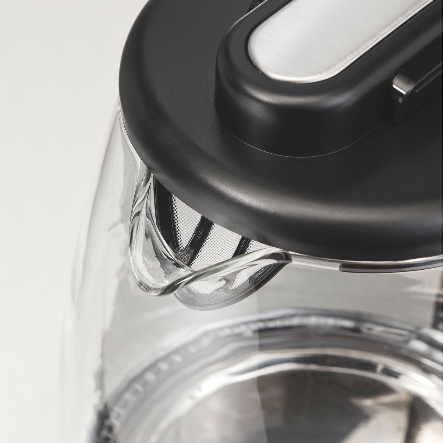 Compact 1 Liter Glass Kettle (40930)