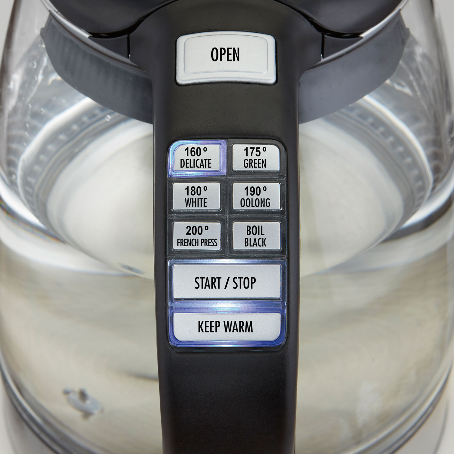 1.7 Liter Glass Variable Temperature Kettle (40941)