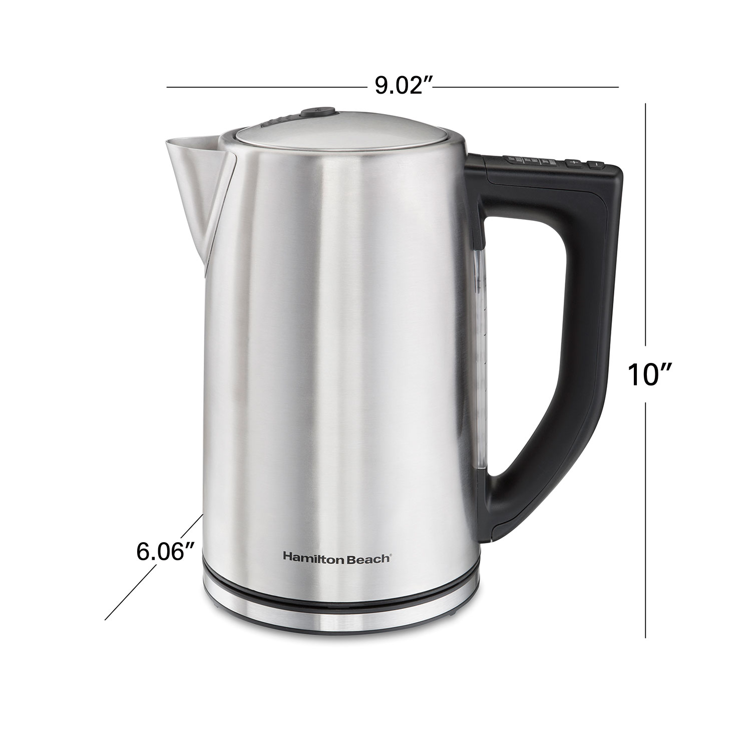 Brushed Stainless 1.7 Liter Variable Temperature Kettle (41025)