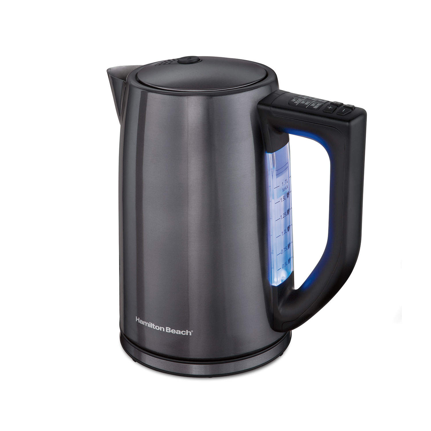 Black Stainless 1.7 Liter Variable Temperature Kettle (41027)