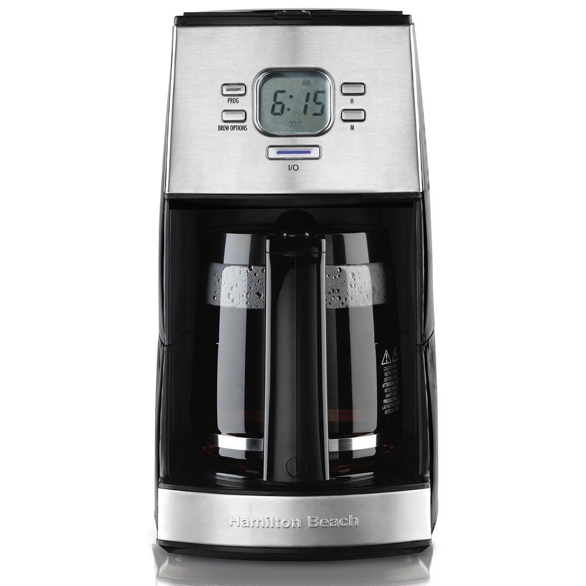 Hamilton Beach 12 Cup Programmable Coffee Maker Black 43254r