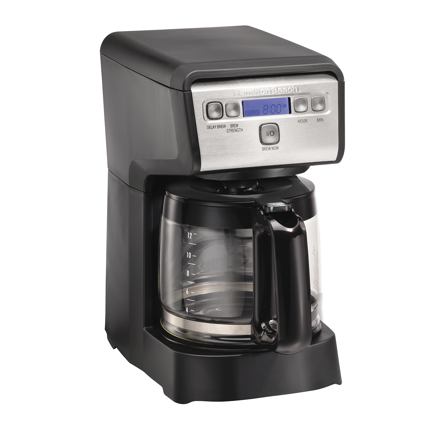 12 Cup Compact Programmable Coffee Maker (46200)