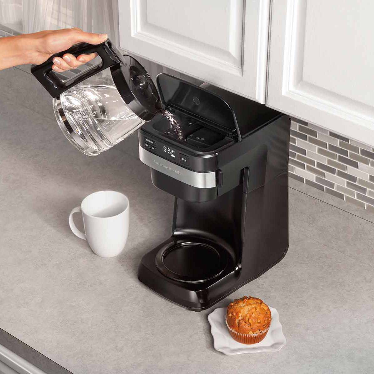 Programmable Easy Access Coffee Maker (46300)