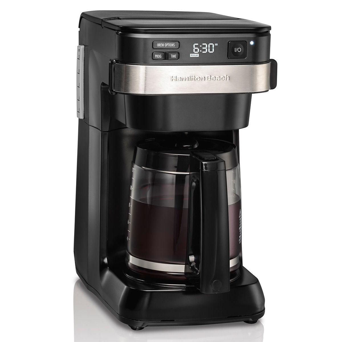Hamilton Beach 12 Cup Programmable Coffee Maker With Front Fill