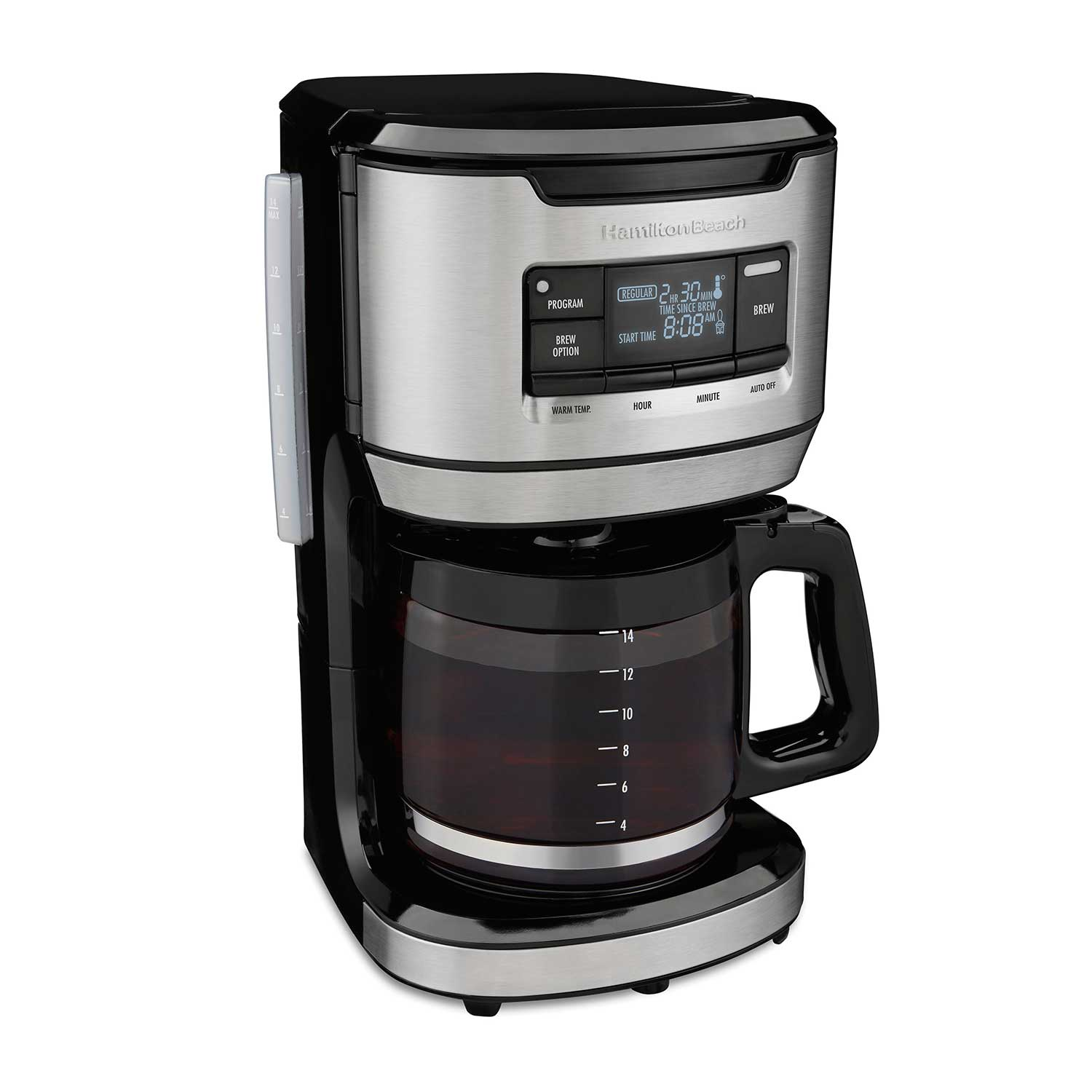 FrontFill<sup>®</sup> 14 Cup Programmable Coffee Maker (46390)