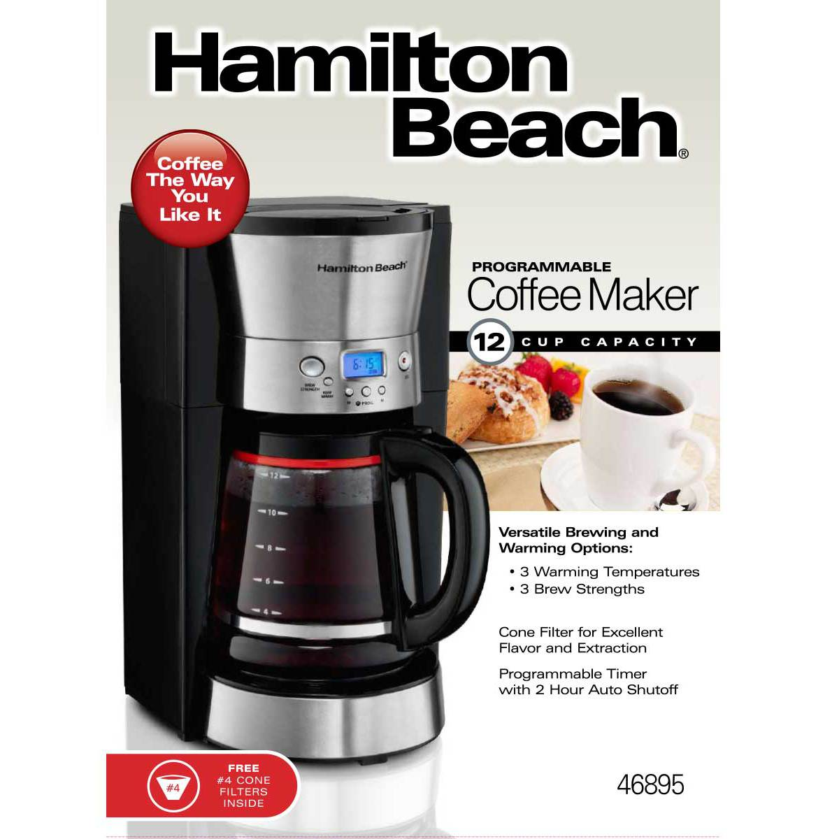 Programmable Coffee Maker (46895)