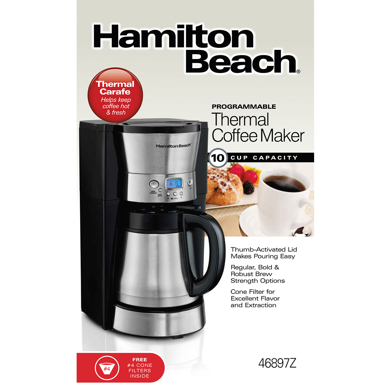 Programmable Thermal Coffee Maker (46897Z)