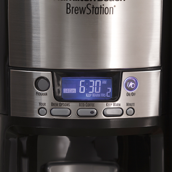 BrewStation® 12 Cup Dispensing Coffee Maker w/ Removable Reservoir (47900)