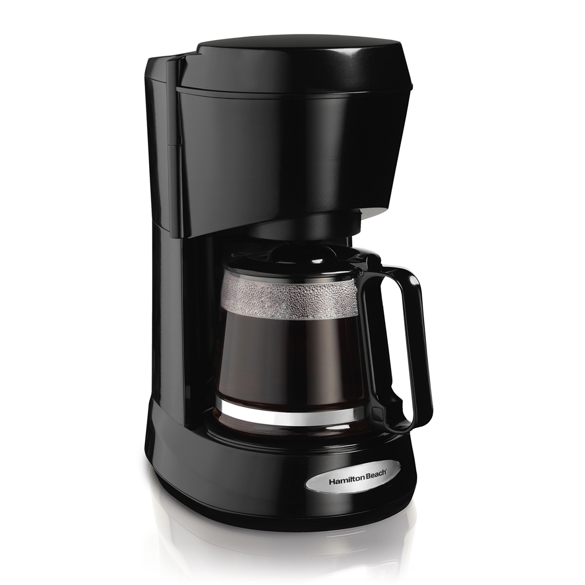 Hamilton Beach 5 Cup Personal Coffee Maker Black 48136
