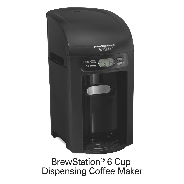 Hamilton Beach 6-Cup BrewStation Coffee Maker - 48274