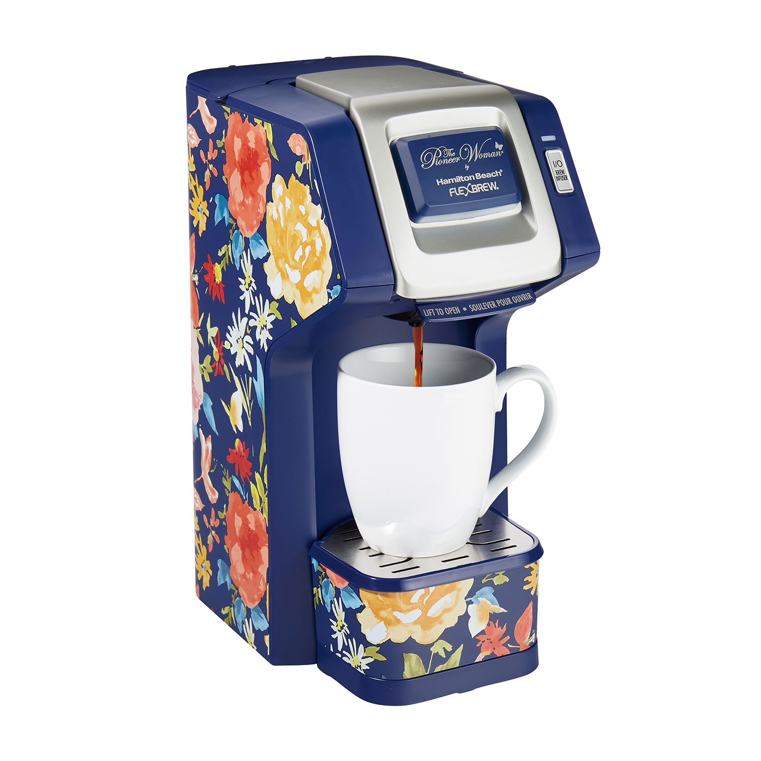 Pioneer Woman® Fiona Floral FlexBrew® Single-Serve Coffee Maker by Hamilton Beach® (49932)
