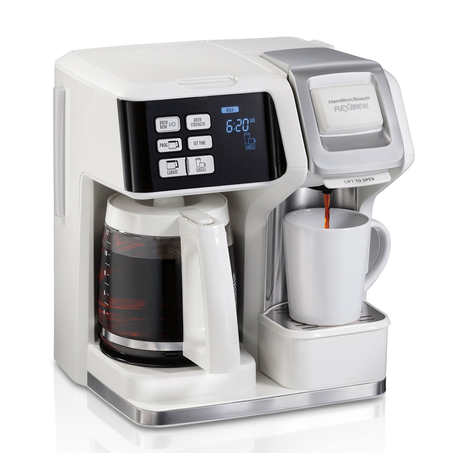 FlexBrew® Trio Coffee Maker, White (49947)